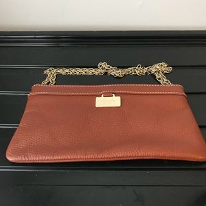 Kate Spade Brown Evening Handbag-Clutch.